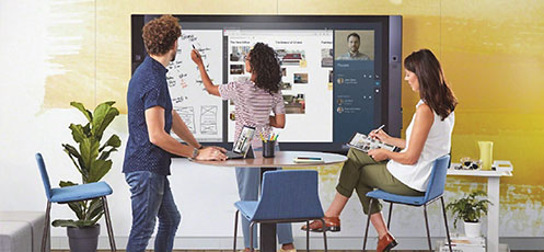 microsoft steelcase travail technologie thumb